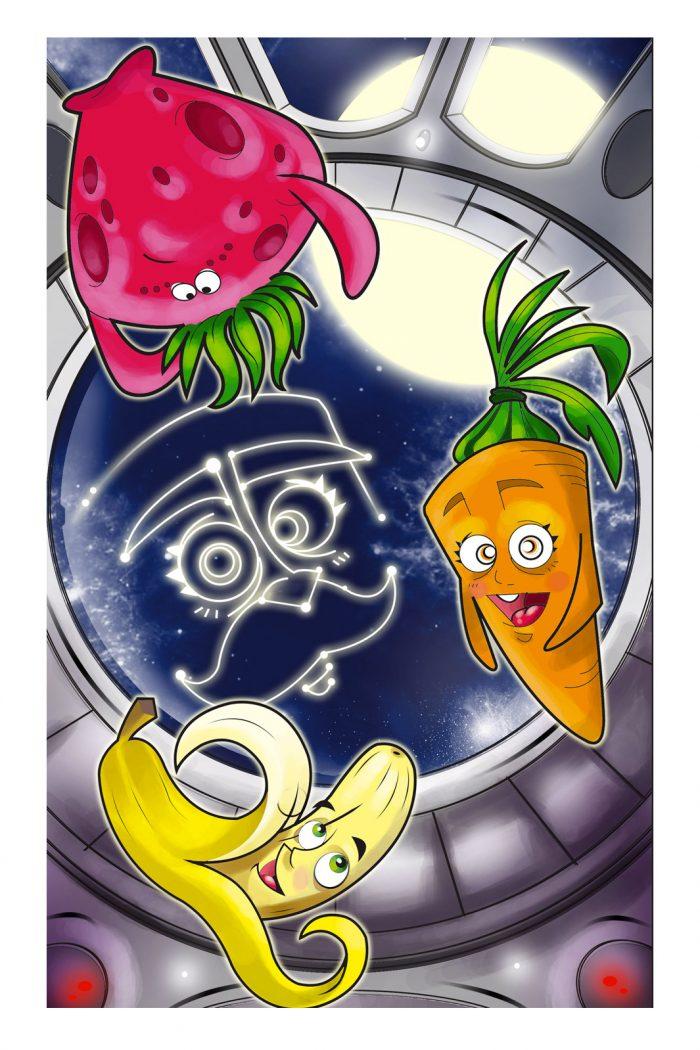 Animation movie script writing - Truly Frutti