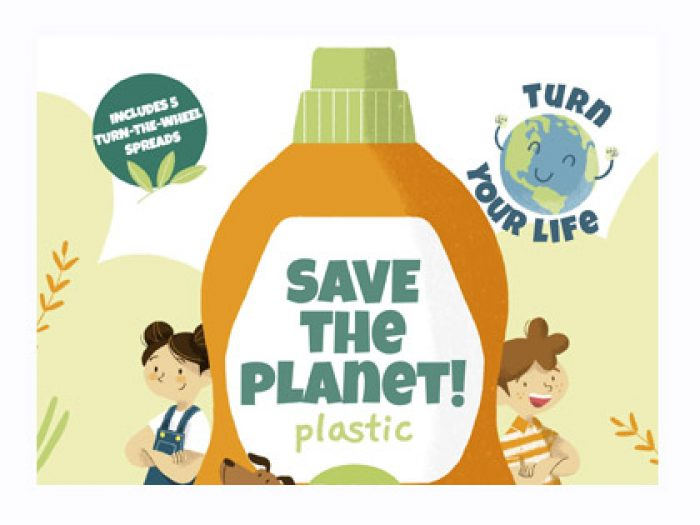 Eco friendly plastic activity book