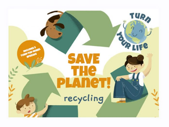 Eco friendly recycling activity book