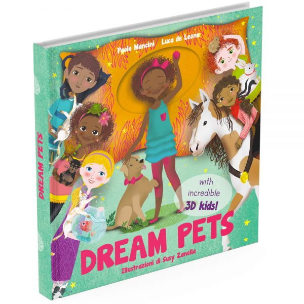 Dream Pets activity book cover