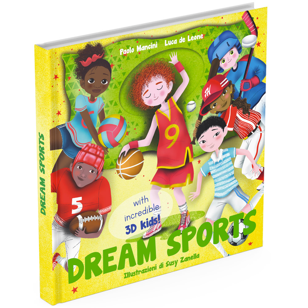Dream Sports activity book cover