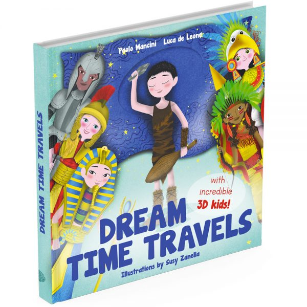 Dream Time Travels activity book cover