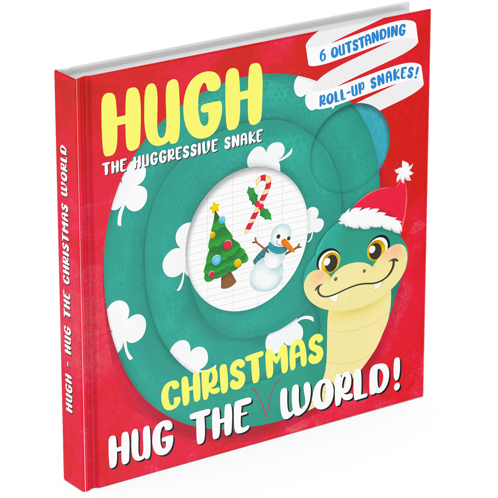 Christmas lift the flap book cover