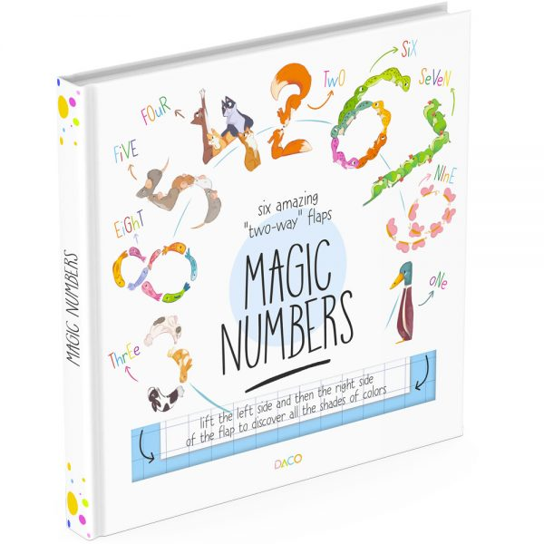 Numbers lift the flap book cover