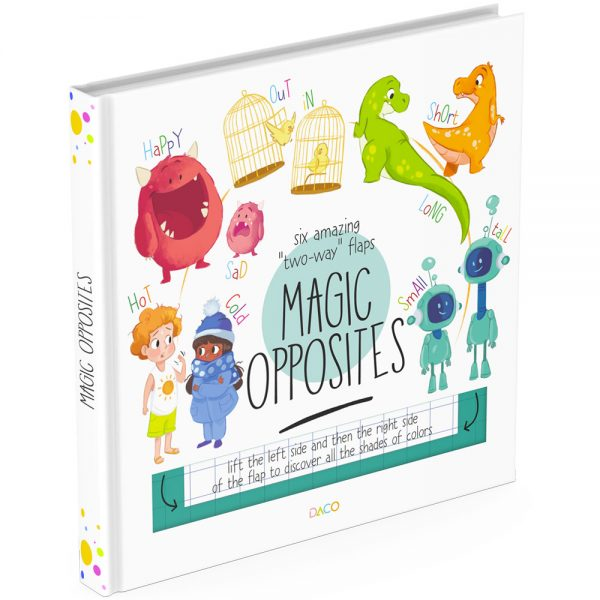 Opposites lift the flap book cover