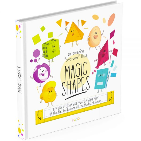 Shapes lift the flap book cover