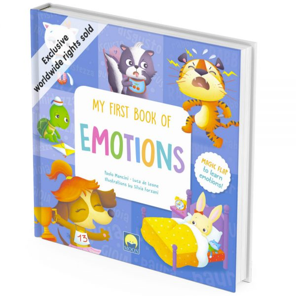 Emotions activity book cover
