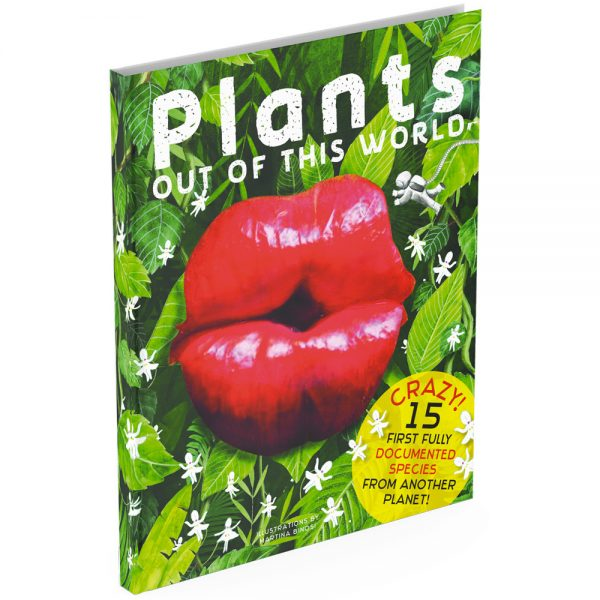 Anthology book intriguing plants cover