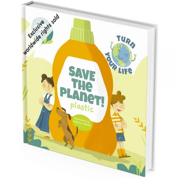 Eco friendly plastic activity book cover