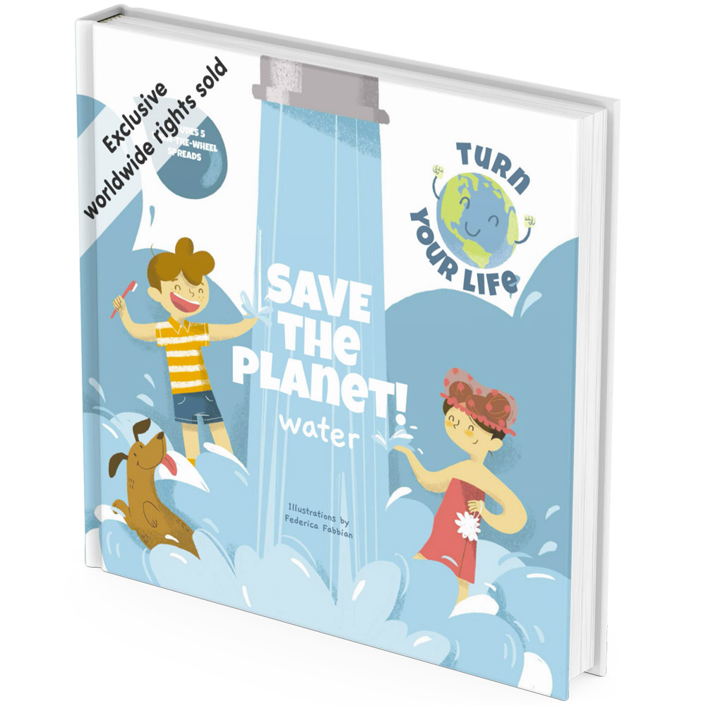 Eco friendly water activity book cover