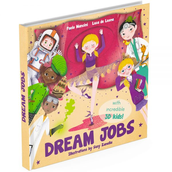 Dream Jobs activity book cover