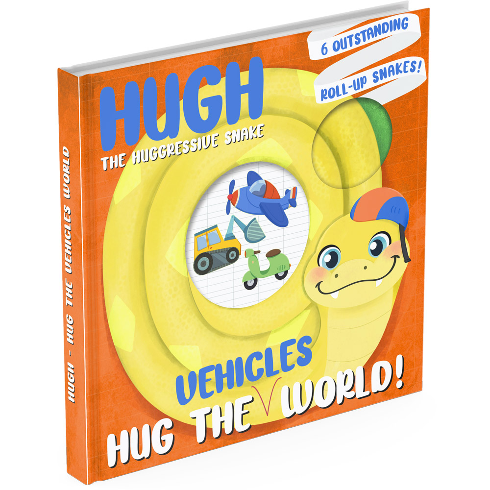 Vehicles lift the flap book cover