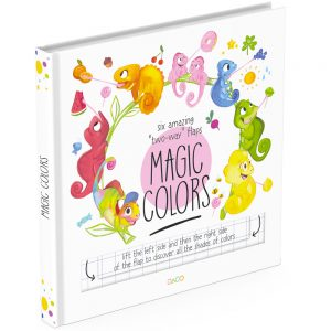 Colors lift the flap book cover