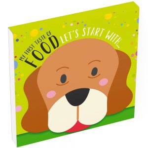 Food pop up book cover