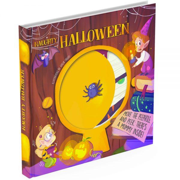 Peek a boo Halloween cover