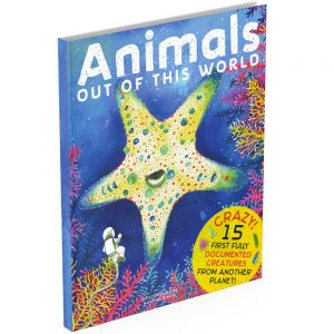 Anthology book intriguing animals cover
