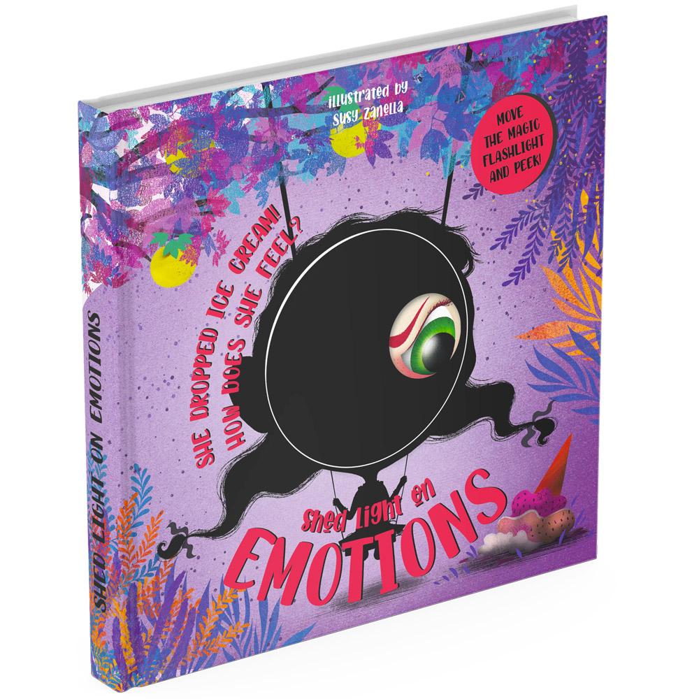 Emotions magic torch board book cover