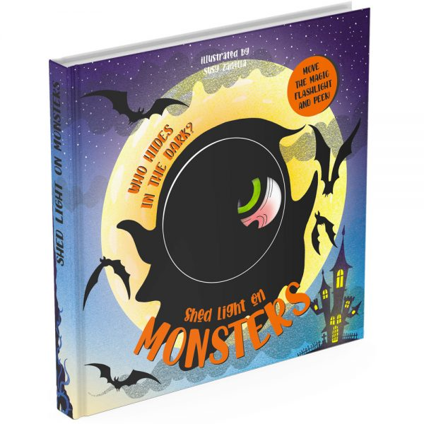 Monsters magic torch board book