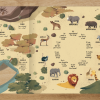 Seek and find book - Game of drones - spread 1 animals